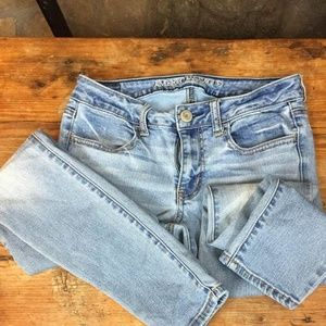 American Eagle jeans  Size 6 27 inch waist.